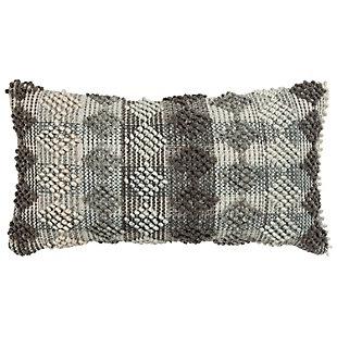 Rizzy Home Diamond Stripe Throw Pillow, , large