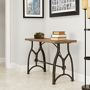 Beckett Industrial Collection Console Table, , rollover