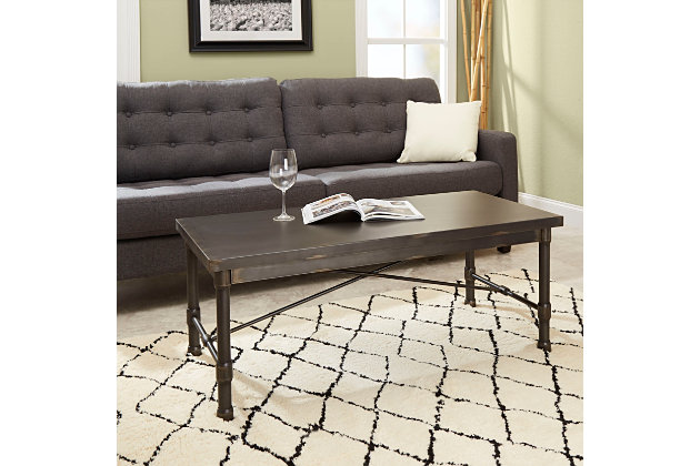 Oxford Oxford Industrial Collection Coffee Table, , large