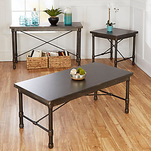 Oxford Industrial Collection Coffee Table, , large