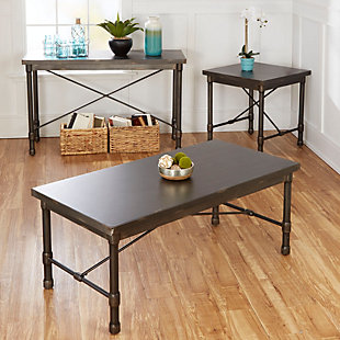 Oxford Oxford Industrial Collection End Table, , large