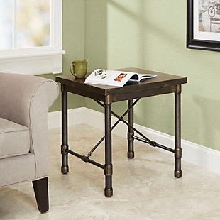 Oxford Industrial Collection End Table, , rollover