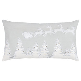 """Rizzy Home 14"""" x 26"""" Poly Filled Pillow, , large"""