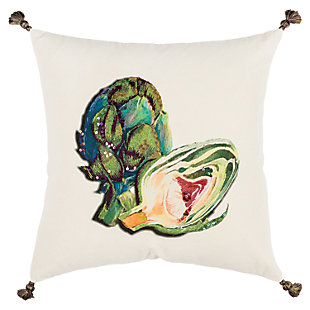 """Rizzy Home 20"""" x 20"""" Poly Filled Pillow, , large"""