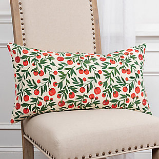 """Rizzy Home 14"""" x 26"""" Poly Filled Pillow, , rollover"""