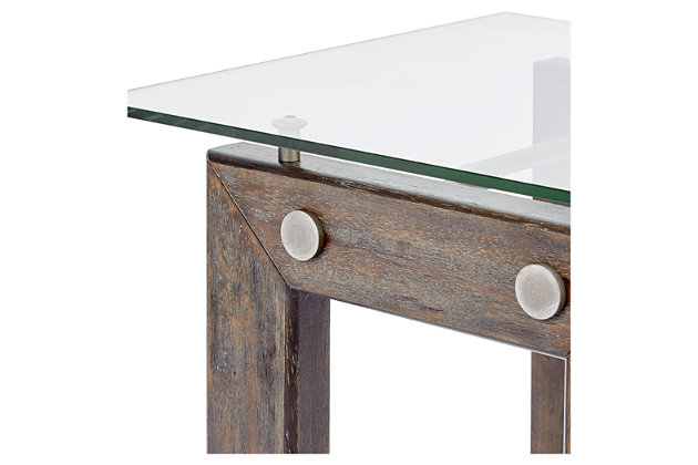 Knox Knox Industrial Collection End Table, , large