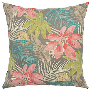 Rizzy Home Botanical Indoor/ Outdoor Throw Pillow, , large