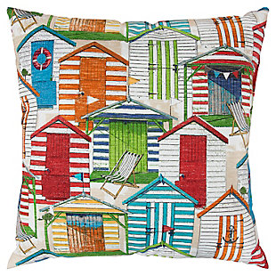 Rizzy Home Beach House Indoor/ Outdoor Throw Pillow, , rollover