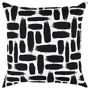 Rizzy Home Paint Stripe Indoor/ Outdoor Throw Pillow, , rollover