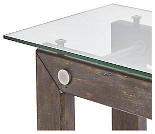 Knox Industrial Collection Console Table, , large