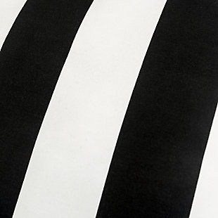 Rizzy Home Stripe Indoor/ Outdoor Throw Pillow, Black, large