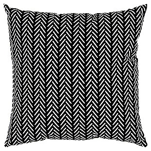 Rizzy Home Chicken Feet Indoor/ Outdoor Throw Pillow, Black, large