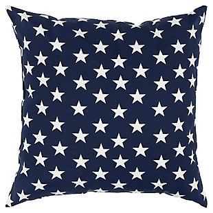Rizzy Home Stars Indoor/ Outdoor Throw Pillow, , rollover