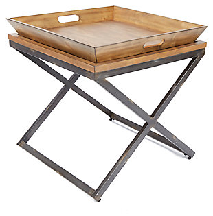Calhoun Calhoun Industrial Collection End Table, , large