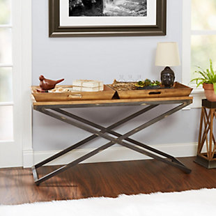 Calhoun Industrial Collection Console Table, , rollover