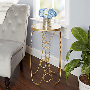 Nora Nora Metal Accent Table, , rollover