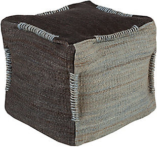 Surya Continental Pouf, , rollover