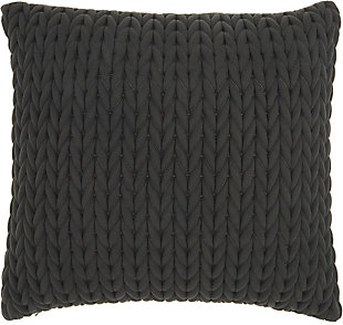 Nourison Life Styles Quilted Chevron Throw Pillow, , large