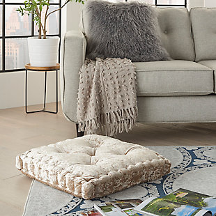 Nourison Life Styles Decorative Throw Pillow, Beige, rollover