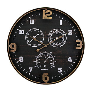 Home Accents Wall Clock, , large