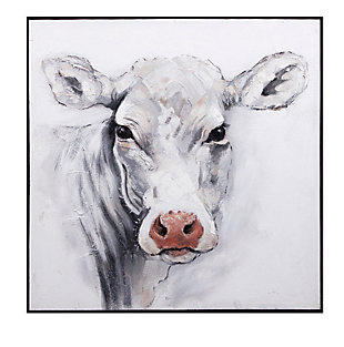 Rickey Cow Oil Painting, , large