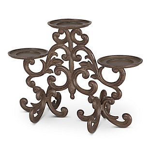 Acanthus 3-Light Candle Holder, , rollover