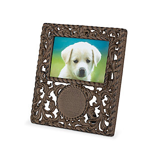 Metal Acanthus Monogrammable Frame, , rollover