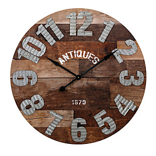 Antiques Wall Clock, , large