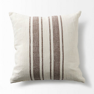 Mercana Phebe Striped Decorative Pillow Cover, , large