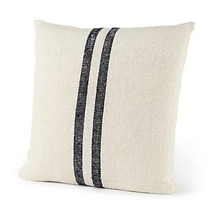 Mercana Sandra Striped Decorative Pillow Cover, , rollover