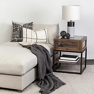 Mercana Susan Striped Decorative Pillow Cover, , rollover