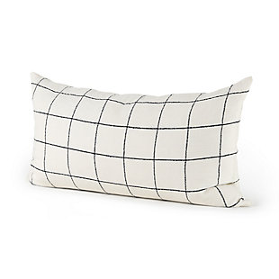 Mercana Suzanne Square Pattern Decorative Pillow Cover, , large