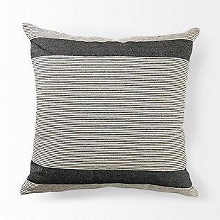 Mercana Nancy Stripe Detail Decorative Pillow Cover, , large