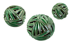 Palmetto Wall or Deco Balls (Set of 3), , rollover
