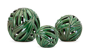 Palmetto Wall or Deco Balls (Set of 3), , large