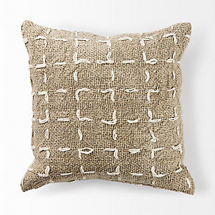 Mercana April Woven Pattern Decorative Pillow Cover, , large