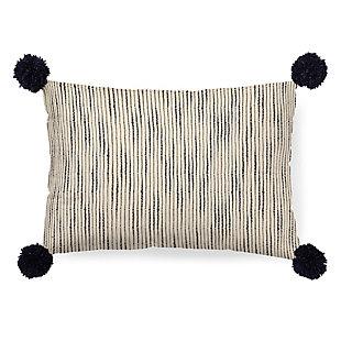Mercana Krystal Pom Pom Decorative Pillow Cover, , large