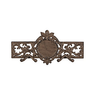 GG Metal Acanthus Monogrammable Wall Hook, , large