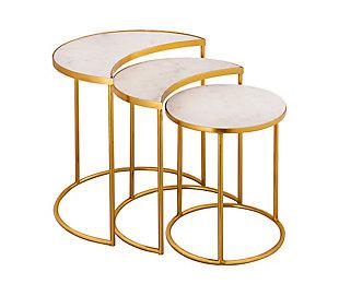 TOV Furniture Crescent Nesting Tables, , large