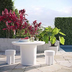 TOV Furniture Delta Concrete Side Table, , rollover