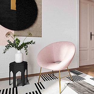 TOV Furniture Nolan Velvet Chair, , rollover