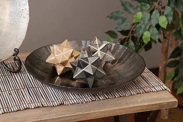 Stargazer Metallic Stars (Set of 3), , large