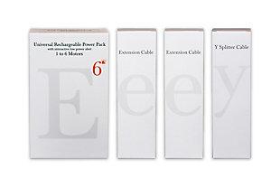 Enouvation E6 6 Motor Power Pack Bundle (1 E6 Power Pack, 2 E Extension Cables, 1 Y Splitter), , large