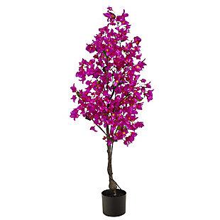 4' Bougainvillea Artificial Tree, , large