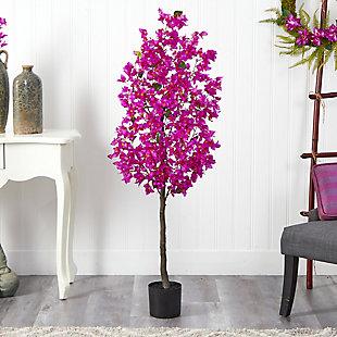 5' Bougainvillea Artificial Tree, , rollover
