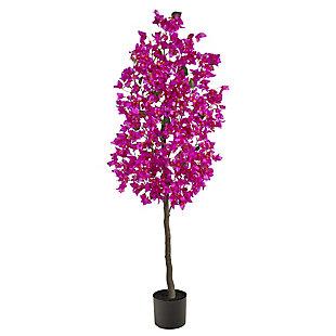 5' Bougainvillea Artificial Tree, , large