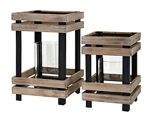 Home Accents Lanterns (Set of 2), , large