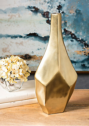 Home Accents Small Gold Vase, , rollover
