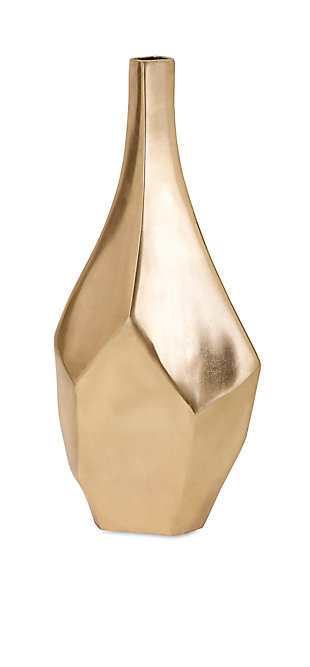 Home Accents Small Gold Vase, , large