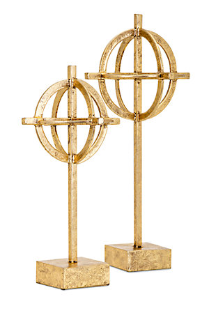 Home Accents Metal Statuaries (Set of 2), , large